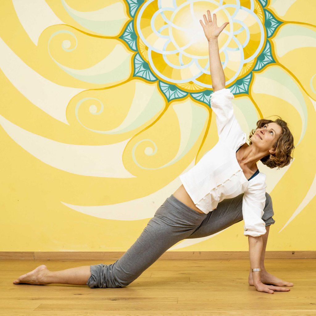Naam Yogalehrerin Katja